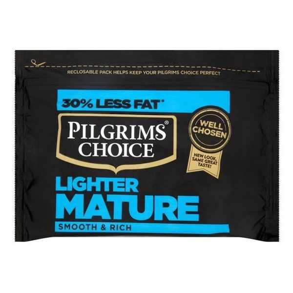 20,000 free Pilgrims Choice Lighter Mature Cheese
