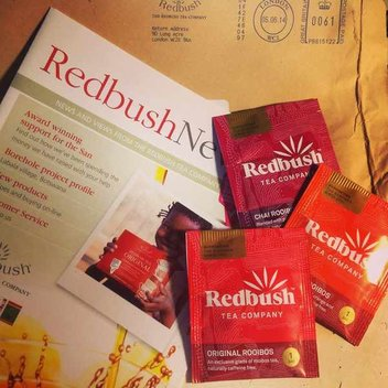 Redeem a free sample of Redbush Tea