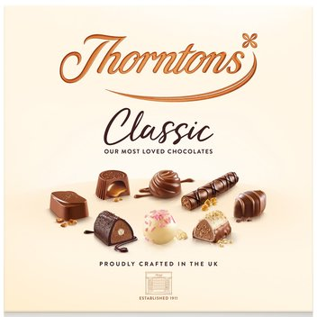 30 boxes of Thornton's chocolates up for grabs