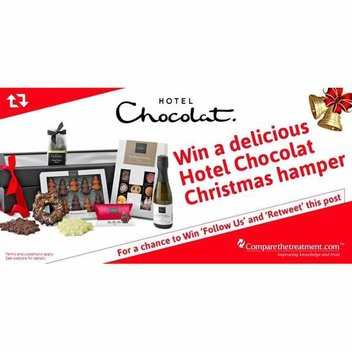 Win a delicious Hotel Chocolate Christmas hamper
