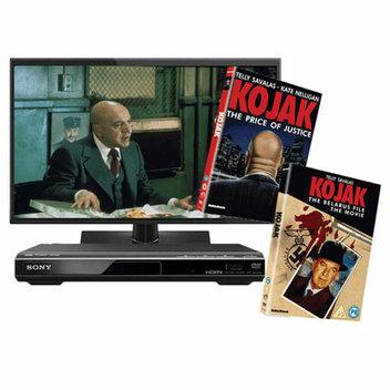 Win a Panasonic TV, Sony DVD player & Kojak DVDs