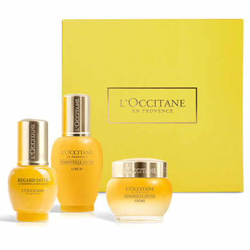 Get a free L'Occitane Immortelle Divine Face Care Trilogy