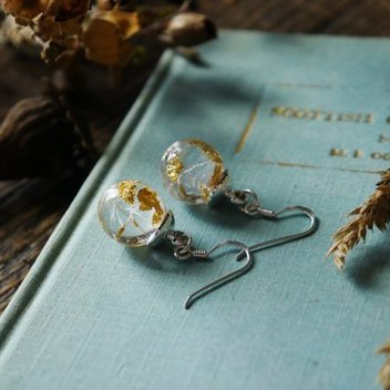 Win a pair of Scottish dandelion seed earrings