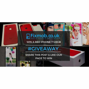 Win a Red iPhone 7 with Fixmob