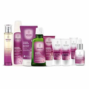Win Weleda's full Evening Primrose range