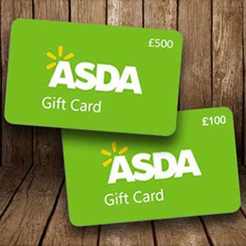 Free ASDA gift cards