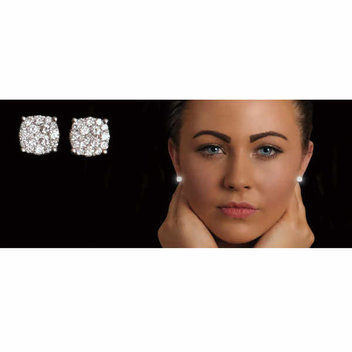 Win a pair of diamond earrings worth over £1000