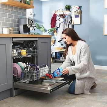 Get a brand new Beko AutoDose Connected Dishwasher