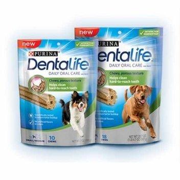 Get your dog a free Purina DentaLife sample