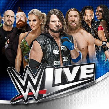 See the WWE Live UK Tour for free