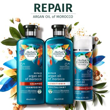 Free Herbal Essences Bio-Renew Argan Oil Shampoo & Conditioner samples