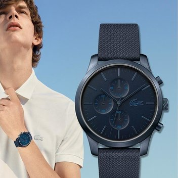Sport the new Lacoste Men's 85th Anniversary watch for free