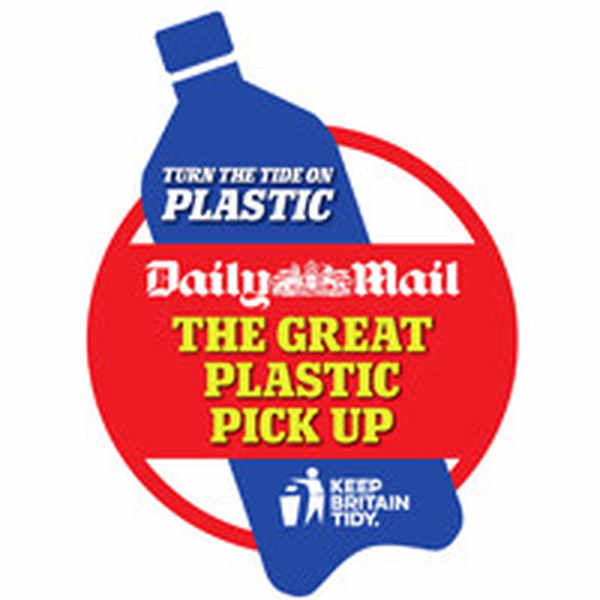 Receive free rolls of plastic bags