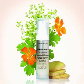 Sample Bare Minerals Skinlongevity serum for free