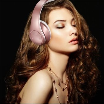 Free Rose Gold Headphones