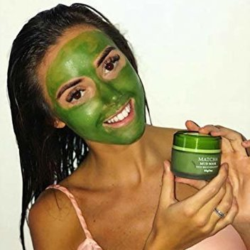 Free matcha face mask samples