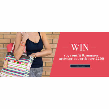Win Yoga Outfit & Summer Accessories worth over £200