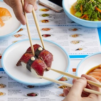 Kids eat free this Christmas at YO! Sushi