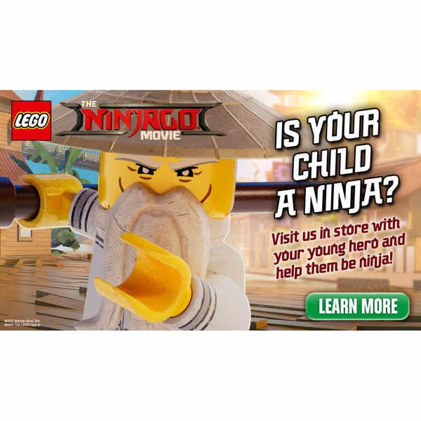 Make & Take your own LEGO Ninjago toy