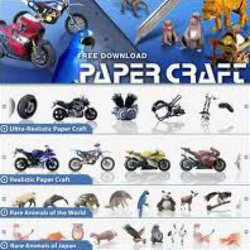 Free Paper Craft from Yamaha
