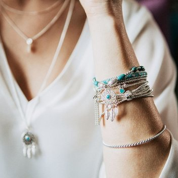 Accessorize with a free Foxtrot Bracelet Stack from Annie Haak