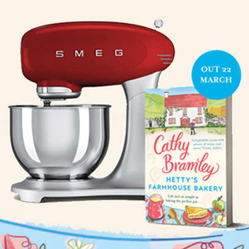 Win a 50's style SMEG stand mixer with Hetty's Farmhouse Bakery