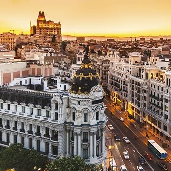 Go on a weekend getaway to Madrid worth £590