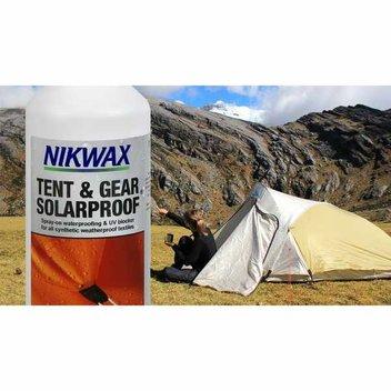 Free Nikwax Tech Wash Tent & Gear SolarProof
