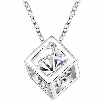 Free Swarovski crystal necklace