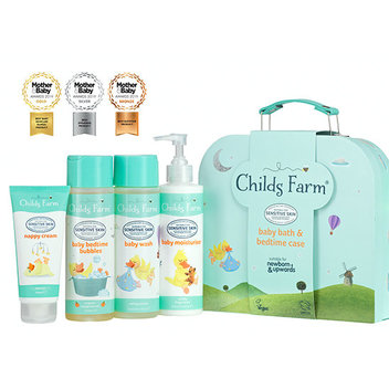 Claim a free baby bath & bedtime case with Childs Farm