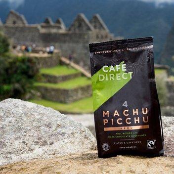 Claim free coffee prizes & a trip to Machu Pichu