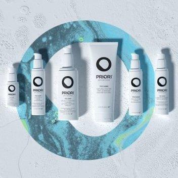 Score a host of Priori skincare products