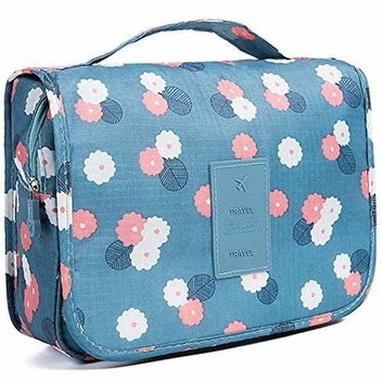 Get a free patterned toiletry bag