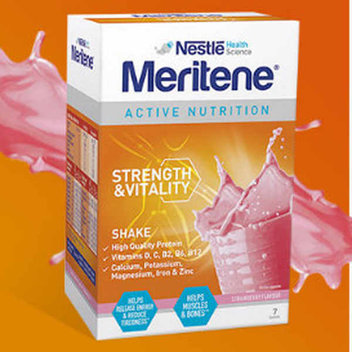 Try Nestle Meritene for free