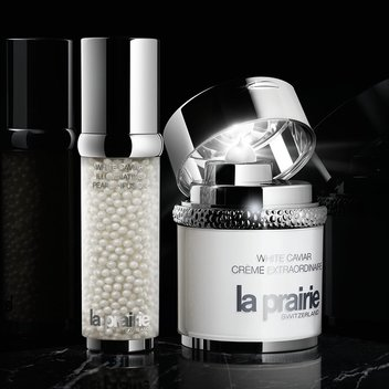 Claim a complimentary sample of La Prairie's White Caviar Collection