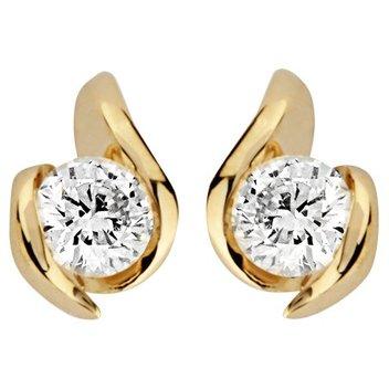 Win a set of 9 Carat Gold DIAMOND earrings
