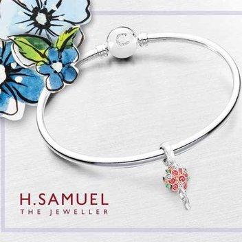 Claim a free Chamilia Flower Bouquet bracelets