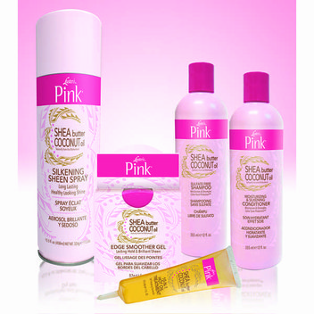 Get 1 of 5 Lusters Pink Styling Sets
