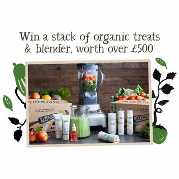 Win a stack of organic treats & blender, worth over £500