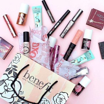 Win a Benefit make-up bundle, worth over £250