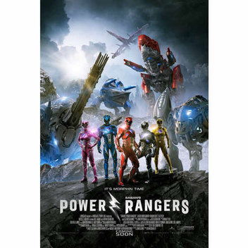 Win a Super Charged Power Rangers inspired TECH package