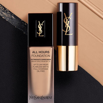 Pick up a complimentary YSL foundation sample