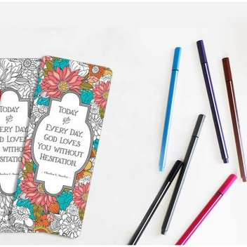 Free Dr. Stanley coloring bookmark