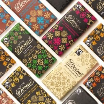 Enjoy a year's supply of Divine Chocolate