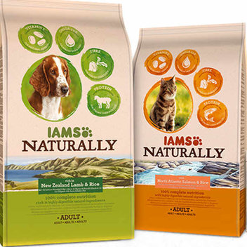 Free IAMS Naturally for cats