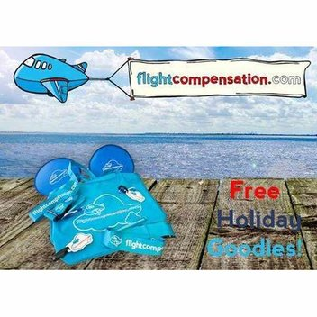 Free travel goodies from Flight Compensation