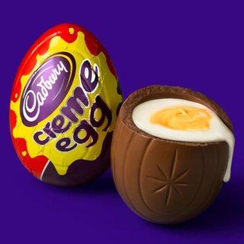 Receive a free Cadbury Creme Egg