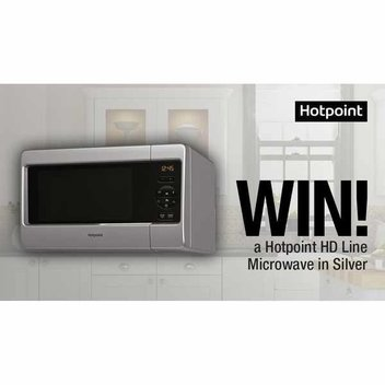 Win a Hotpoint HD Line Microwave