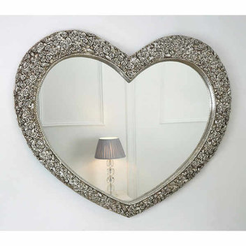Win a Rose Heart Champagne Mirror