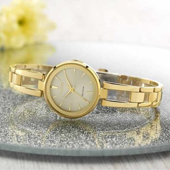 Win an Eco-Drive Gold Tone Watch